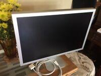"Apple 23"" HD Cinema Display, with USB / Firewire Hub + PSU"