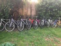 Bikes 40 each