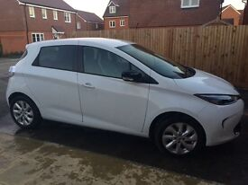 6 month old Renault Zoe electric car