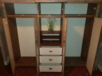 Cheap wardrobe and chest drawer