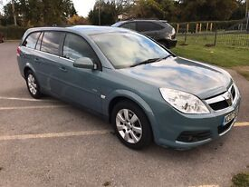 Vauxhall Vectra Estate Automatic- full service history - very low milage