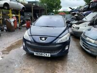 2008 Peugeot 308 SE Auto 5dr 1.6 Petrol Blue BREAKING FOR SPARES