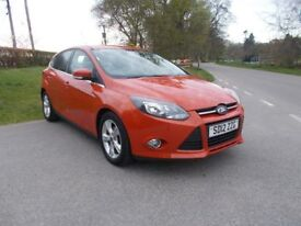 2012 12 FORD FOCUS 1.6 TDCI ZETEC 5 DOOR CALL 07791629657