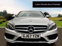 Mercedes-Benz C Class C 220 D 4MATIC AMG LINE PREMIUM (silver) 2017-09-29