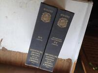 Compact edition Oxford English Dictionary