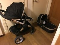 Icandy Peach black travel system mint condition