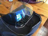 2 Shoei Visors & Helmet bag