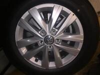 VW T6 alloy wheels