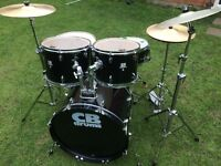 Drums - Outstanding CB Drum Kit - Complete - Many Extras - From £105 - First To See will Buy