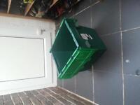 heavy duty storage boxes £5 each