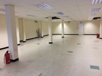 Suspended Ceiling Fluorescent Lights - Like new with fluorescent tubes