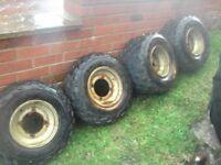 4xquad wheels/tyres