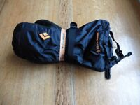 Black Diamond Absolute Mitts - Size Large - Waterproof and Lightweight