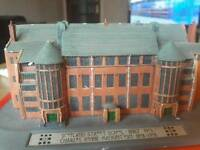 Model of Scotland Street School Glasgow