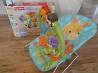 Fisher Price Precious Planet Playtime Bouncer. Excellent condition comes with box