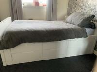 Dwell single buddy bed with mattress & 6 drawer storage