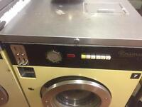 Industrial coin operated washing machines