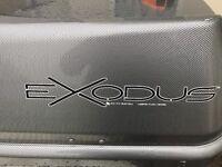 Exodus Car Roof Box - Ideal for Skis - @190cm x 39cm