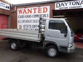 Nissan Cabstar 34.10 Pickup 3litre diesel Service History Reduced to Clear