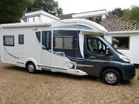 Chausson Suite Relax 5 berth Fiat Ducato LWB Motorhome. Stylish low profile & low mileage.