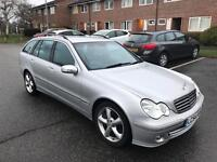 MERCEDES C220 AVANTGARDE C CLASS ESTATE AUTO FSH SPORTS PACK