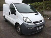 Vauxhall Vivaro 1.9 DTI 2700 SWB White
