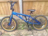 BMX. Boys bike for sale, hardly been used. Excellent condition