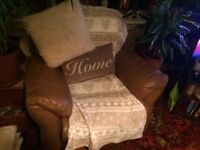 2 seater and matching electric recliner chair