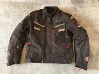 BKS Apollo S2 Motorbike Jacket - Black Medium - All Season & Waterproof
