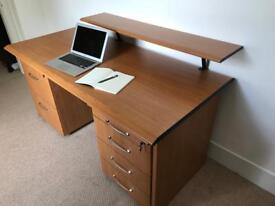 Ikea jonas desk similar to ikea malm birch effect in tunbridge
