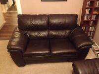 Leather DFS couches (3 and 2 seat). Great condition.