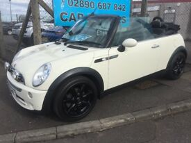 2008 MINI Convertible SIDEWALK CONVERTIBLE ** FULL LEATHER **
