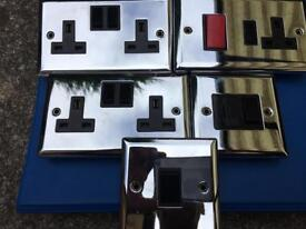 Chrome sockets / Light Switches