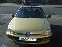 Peugeot 106 1.1 Independence 52 reg