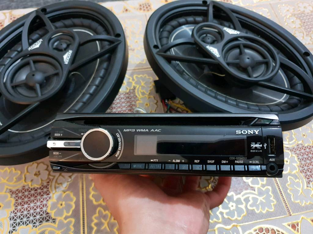 Sony Car Stereo Kickers Speakers For Sale In Leicester Wiring Diagram Cdx Gt540ui
