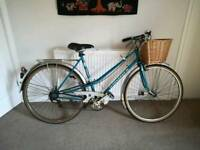 Ladies vintage peugeot bike