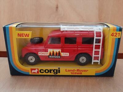 LAND ROVER SIII 109 SW - CJ 421 FOREST FIRE WARDEN - MIB - RARE NOW