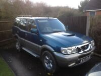 4x4. Nissan terrano 7 seater