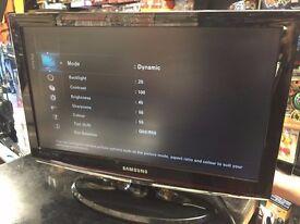 Samsung 22 Inch High Resolution LCD TV HDMI VGA USB SCART Flatscreen Television Model LE22C450E1W