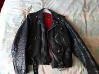 Biker jacket retro style