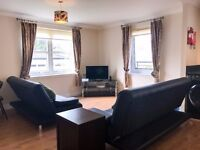 2 Bedroom Prestwick Apartment, all bills included with linen and cleaner, sleeps up to 6