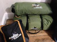 VANGO ICARUS 500 tent with AWNING AND CARPET
