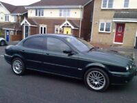 JAGUAR X TYPE DIESEL 2005 MOT AUGUST 2018 MANJUAL ALLOYS