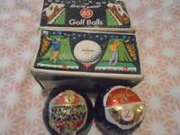 6 unused Dunlop 65 Golf balls - all individually wrapped