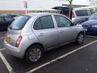Automatic Nissan micra spirits low mileage
