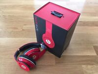 BEATS BY DR DRE Studio 1.0 wired Noise-Cancelling Headphones - Red