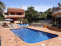 House with private pool Lloret de Mar, Girona