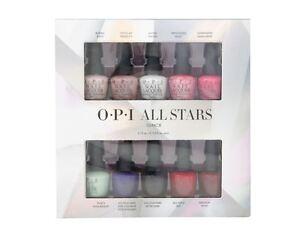 OPI All Stars Nail Varnish Gift Set - 10 x 3.75ml Mini Polish Lacquer Collection
