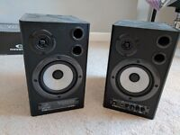 Behringer ms40 studio monitors