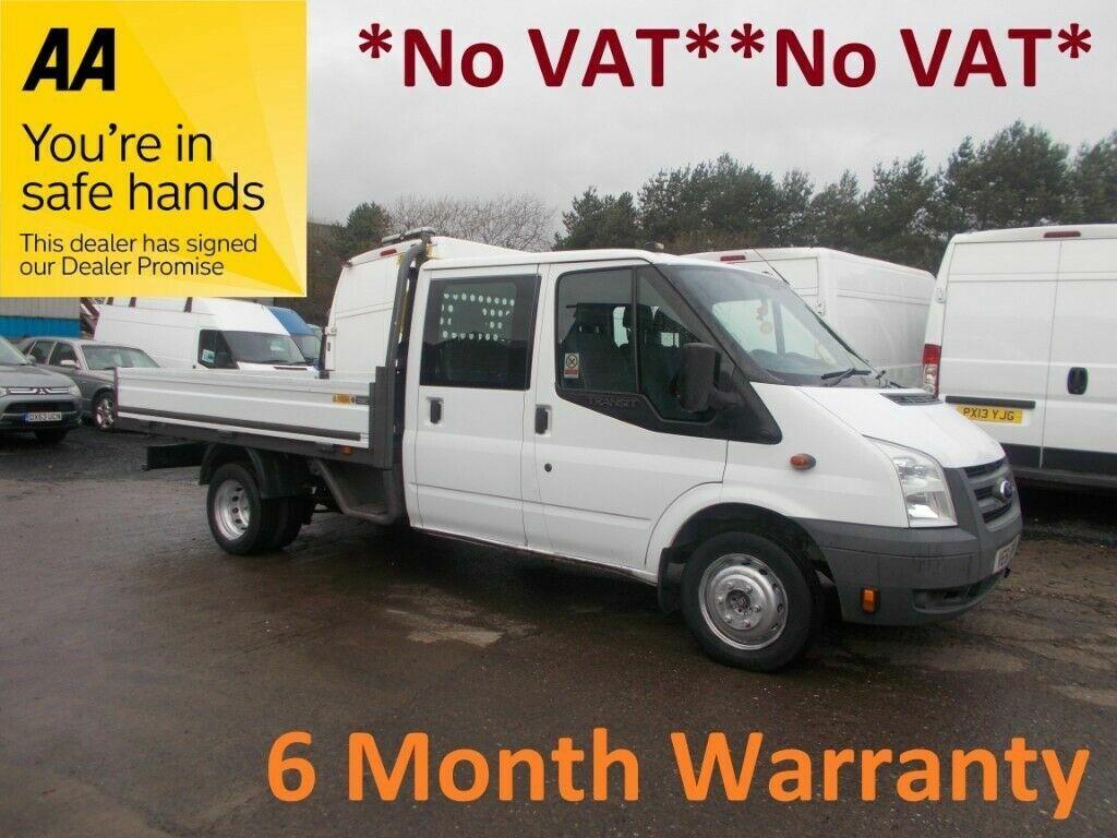 20ed0ae92b7e3f Ford Transit 350 RWD 2.2 TDCi 125 LWB Dropside …    NO VAT   NO VAT   ONLY  74